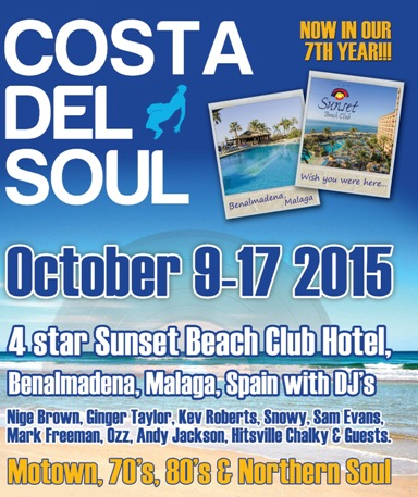 Costa del Soul 2015 at Sunset Beach Club