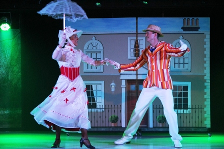 Mary Poppins Show at Sunset Beach Club, Benalmadena