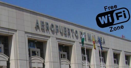 Malaga airport Free WiFi