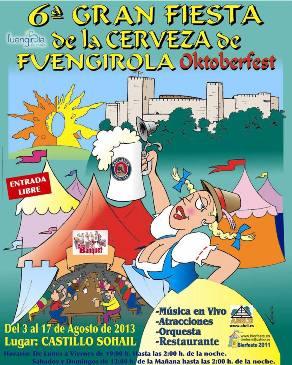 Fiesta de la Cerveza Fuengirola 2013
