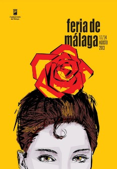 Poster for the Malaga fair 2013