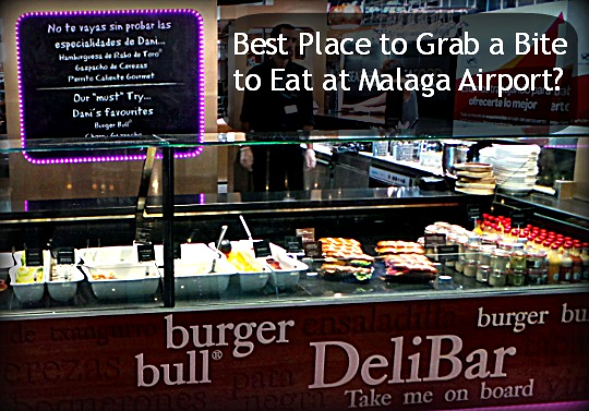 Dani Garcia Deli Bar at Malaga airport