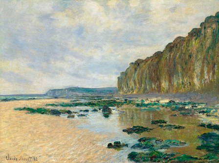Monet's Marea Baja en Varengeville