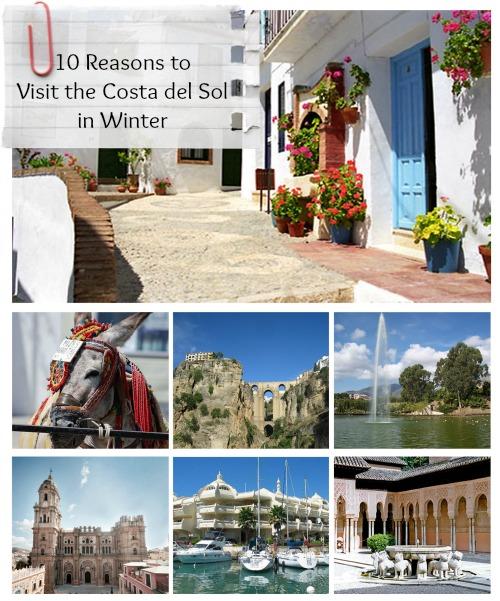 10 Reasons to visit Costa del Sol in Winter