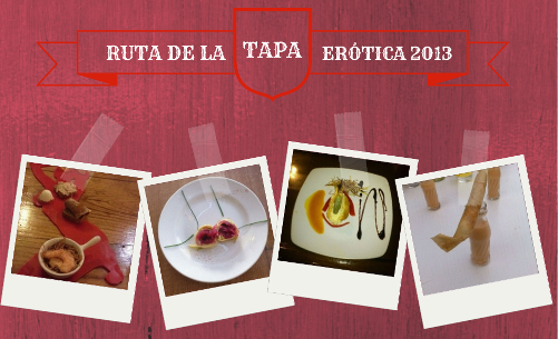 Photos of tapas from erotic tapas route in Fuengirola