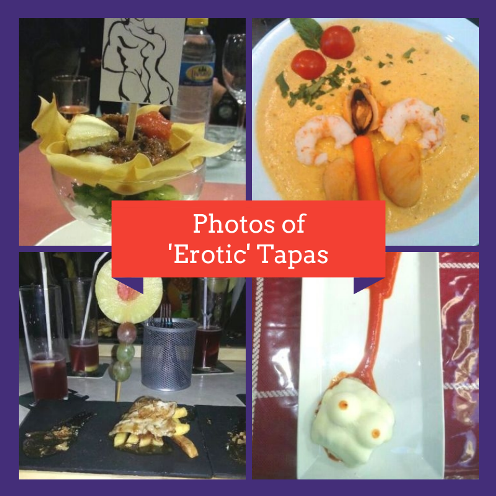 Photos of 'Erotic' Tapas