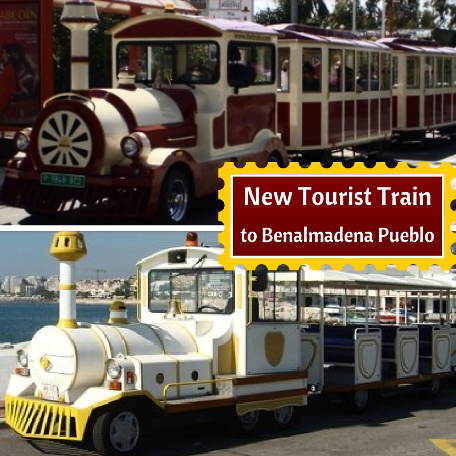 New Tourist Train to Benalmadena Pueblo