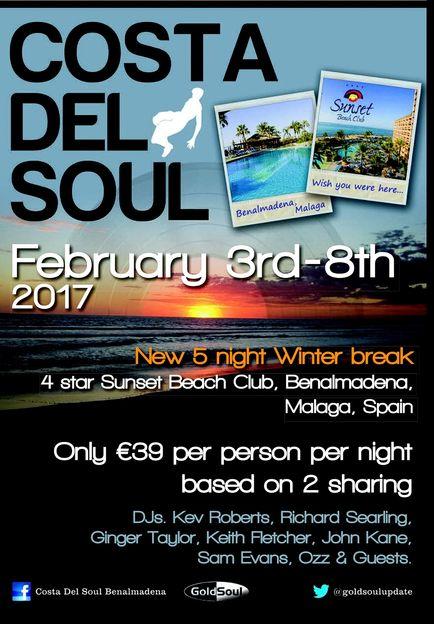 Costa del Soul February 2017