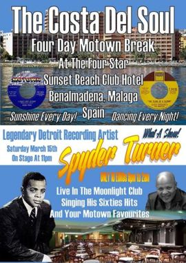Poster for Costa del Soul Motown Break