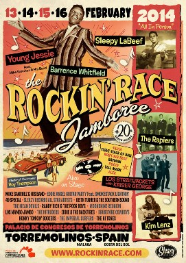 Rockin race jamboree 2014 in torremolinos