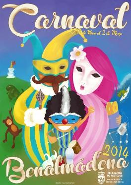 Poster for Benalmadena Carnival 2014