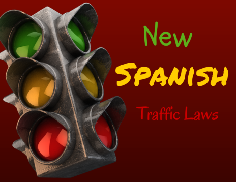 New Spanish Traffic Laws
