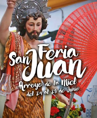 Poster for San Juan Fair in Benalmadena