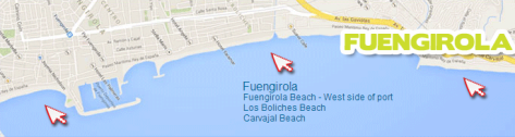Costa Water Park Map Fuengirola