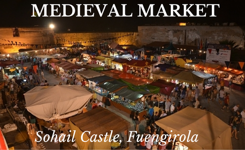 Medieval Market at Sohail Castle in Fuengirola