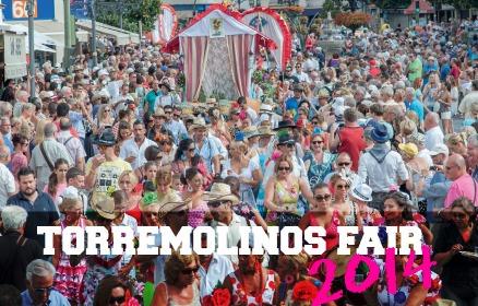 Feria San Miguel 2014 in Torremolinos