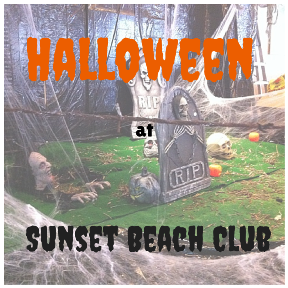 Halloween at Sunset Beach Club