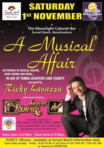 Ricky Lavazza Charity Show