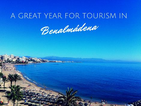 Benalmadena Tourism - Clear Blue sea and sky