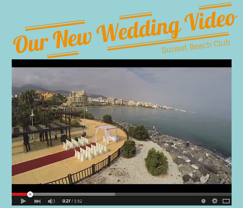 New Sunset Beach Club Wedding Video