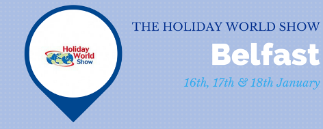 THE HOLIDAY WORLD  SHOW Belfast 2015