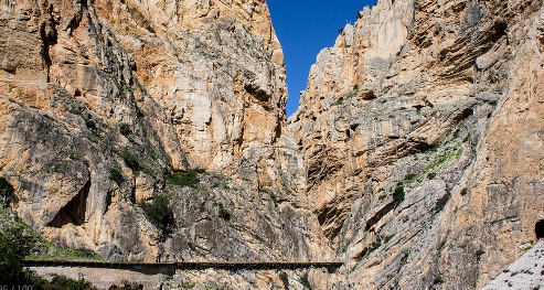 Spectacular scenery - Caminito del Rey