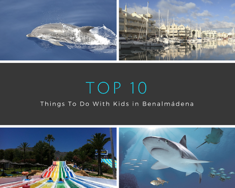 Top 10 Things to do with kids in Benalmadena