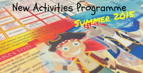 New Activities Programme at Sunset Beach Club Summer 2015