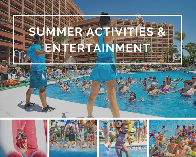 Summer Activities & entertainment at Sunset Beach Club