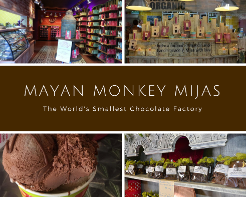 Mayan Monkey Mijas Chocolate Factory