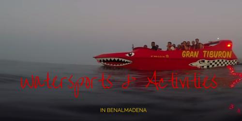 Watersports in Benalmadena