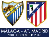 Malaga CF v Atletico Madrid
