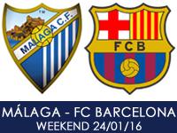 Malaga CF v FC Barcelona