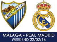 Malaga CF v Real Madrid