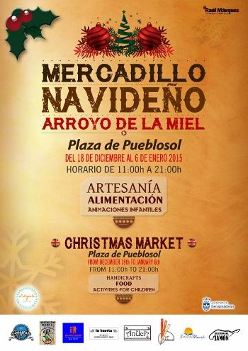 Christmas Market in Arroyo de la Miel, Benalmadena