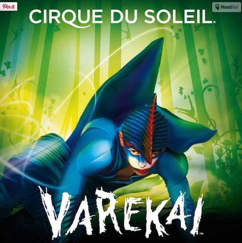 Cirque du Soleil in Malaga - Varekai