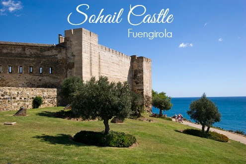 The grounds of Sohail Castle in Fuengirola