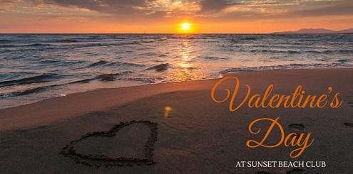 Valentines Day at Sunset Beach Club, Benalmadena