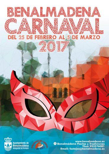 Poster for Benalmádena Carnival