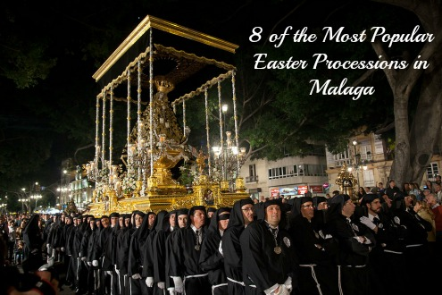 8 of the most popular Easter Processions in Malaga