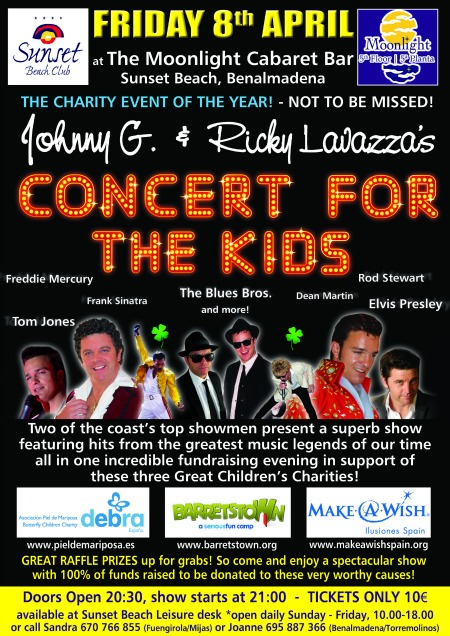 Concert for the Kids at Sunset Beach Club