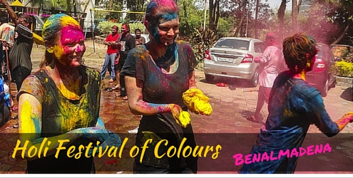 Holi Festival of Colours in Benalmadena