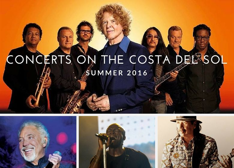 Concerts on the Costa del Sol Summer 2016