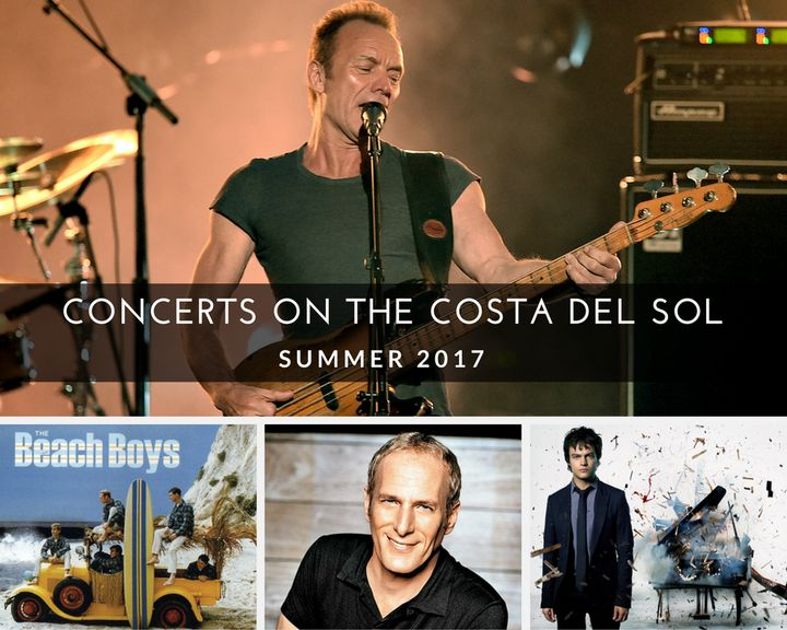Concerts on the Costa del Sol - Summer 2017