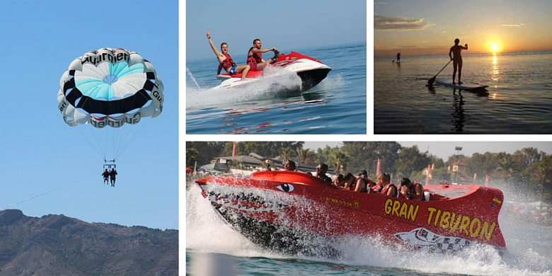 Fun Water sports on the Costa del Sol