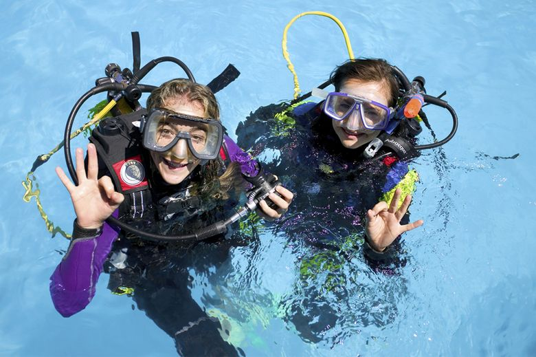 Scuba diving on the Costa del Sol