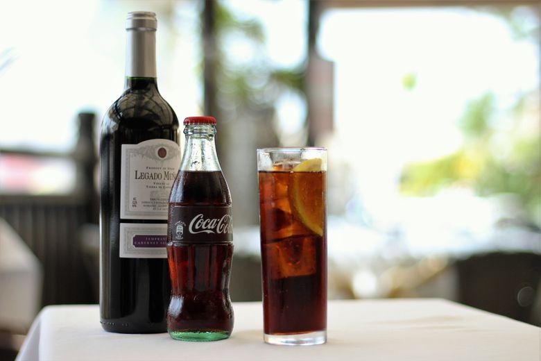 Kalimotxo… Red wine and Coca Cola
