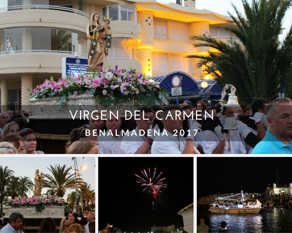 Virgen del Carmen celebrations in Benalmadena