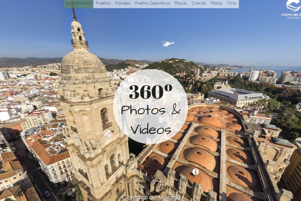 360º Videos & photos of Malaga province