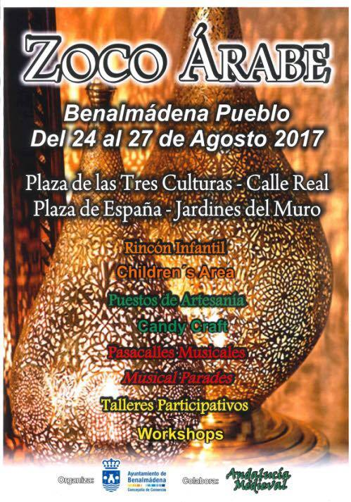 Poster for Arab Market in Benalmadena Pueblo
